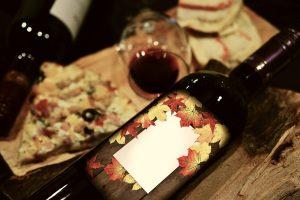 Etikett-fuer-Weinflasche